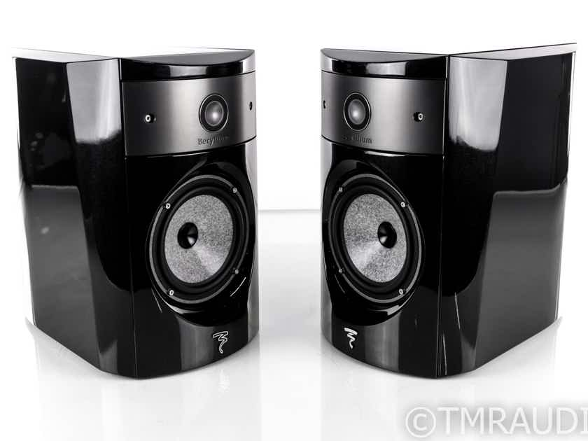 Focal Electra 1008 Be Bookshelf Speakers; Black Lacquer Pair (20136)