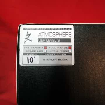 Synergistic Research Atmosphere UEF Level 3 Speaker Cables 10 feet