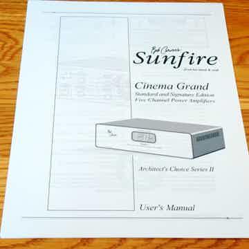 Sunfire Cinema Grand 400-5
