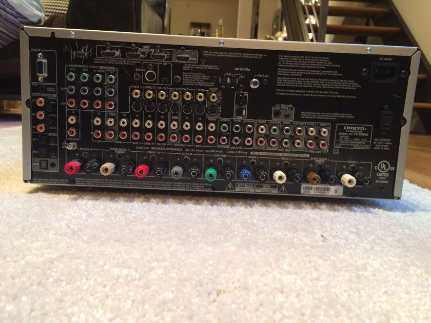 Onkyo TX SR805  7.1 130 WPC SUR. SOUND RECEIVER