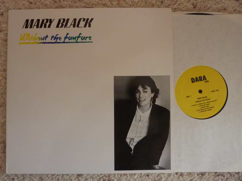 MARY BLACK  WITHOUT THE FANFARE lp M