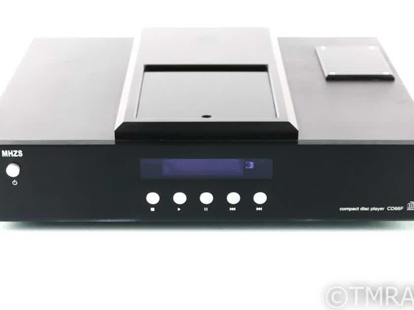 MHZS CD66F Tube HDCD / CD Player; Transport; AS-IS (Missing Clamp) (28428)