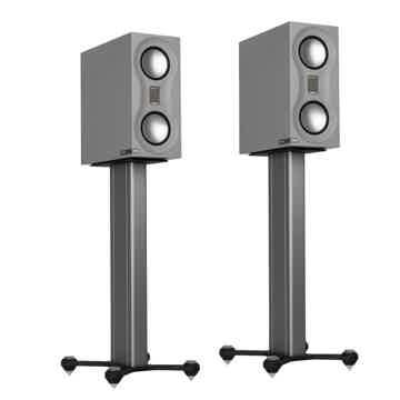 Speakers & Stand Combo (White):