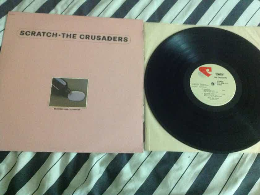 Crusaders  - Scratch Blue Thumb Records 1974 Vinyl NM