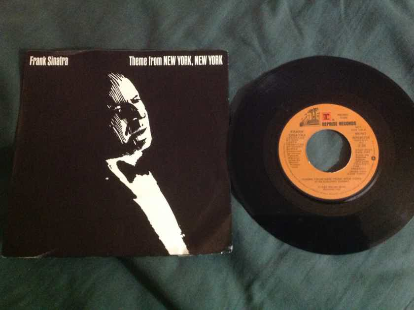 Frank Sinatra - Theme From New York New York Promo 45 With Sleeve