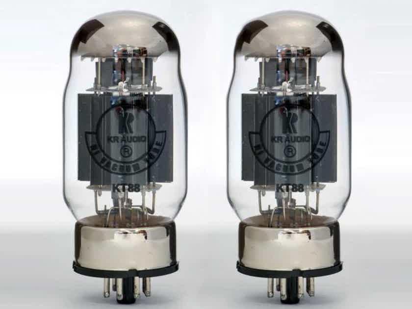 KR Audio KT88 tubes - NEW - hand made in Prague - 6 months warranty