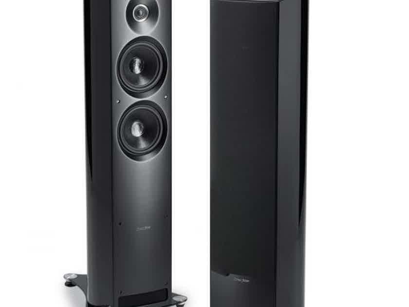 Sonus Faber Venere 2.5 Floorstanding Speakers - Glass Black Finished - NEW