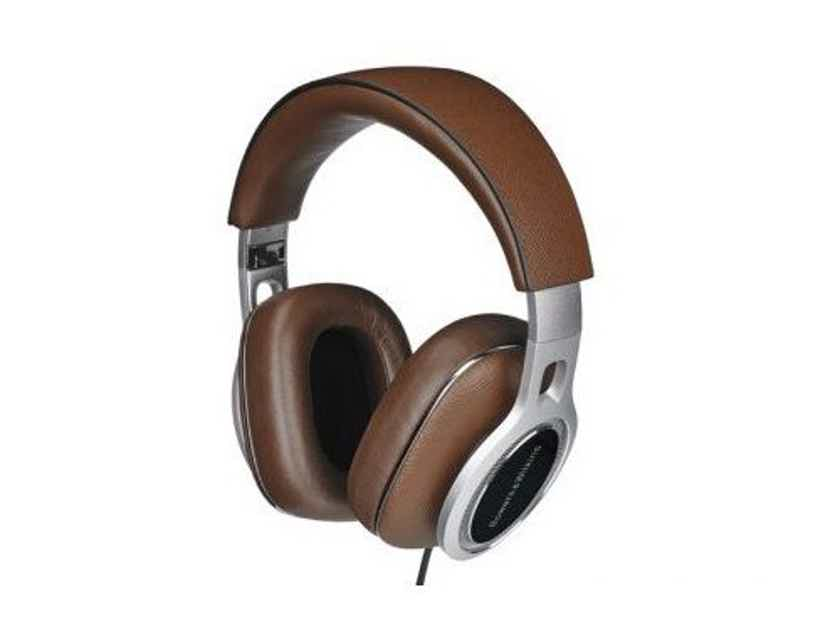 B&W P9 Signature Closed Back Over Ear Headphones; Brown (New) (20304)