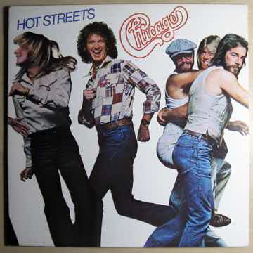 Chicago - Hot Streets - 1978 Pitman Pressing Columbia F...