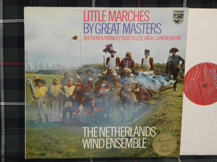 The Netherlands Wind Ensemble - Little Marches By Great Masters Philips Holland 6599 172