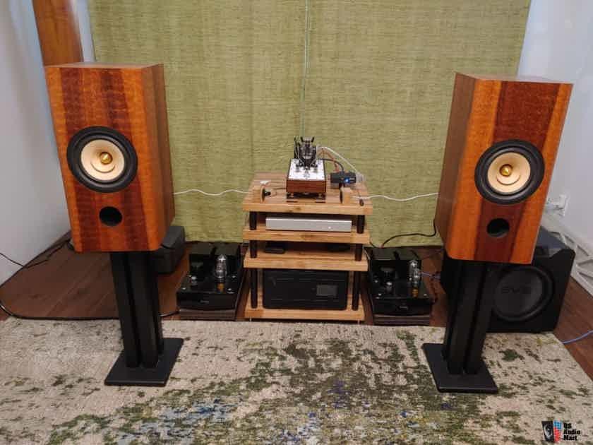 "Tang Band W8-1772 8"" Neodymium Full Range Drivers in Bob Brines CAbinets"