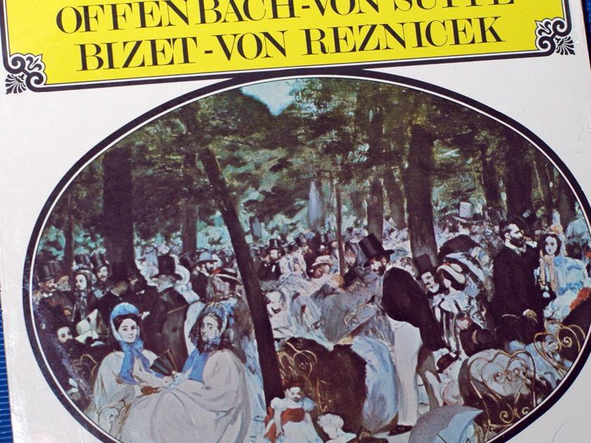 "VARIOUS / Stein  - ""Favorite Overtures"" -  Audio Spectrum 1960s SEALED"