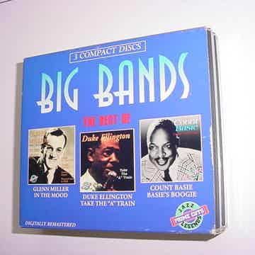 Best of Big Bands 3 cd set Ellington Basie Glenn Miller
