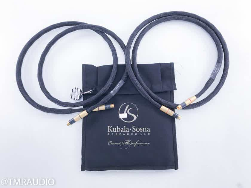 Kubala-Sosna RevolutionZ Expression RCA Cables 1.5m Pair Interconnects (15463)