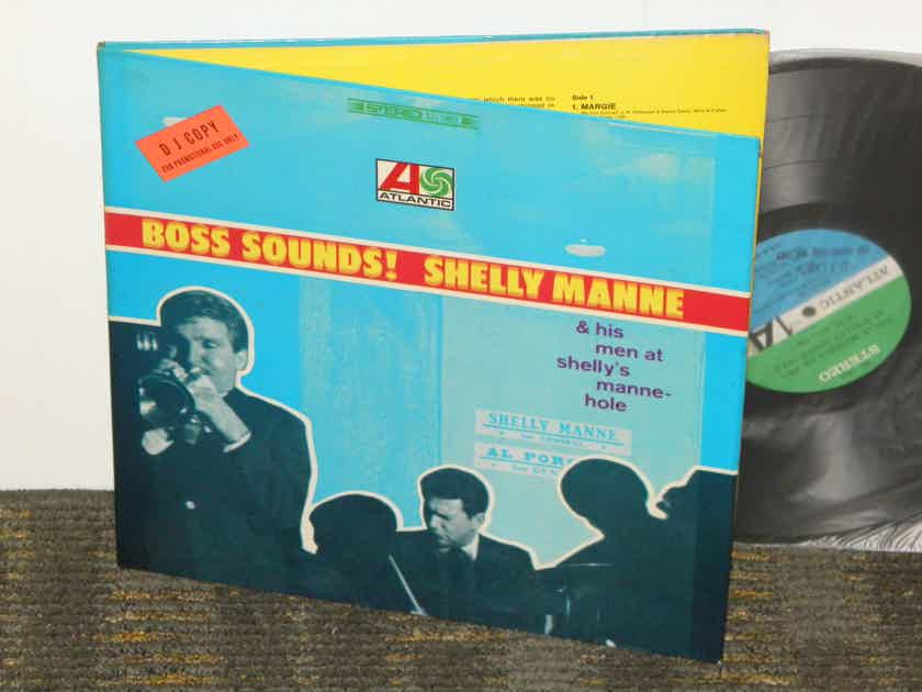 """Shelly Manne """"Boss Sounds"""" - Live At Shell's Manne-Hole Atlantic SD 1469 STEREO Promo 1st pressing"""