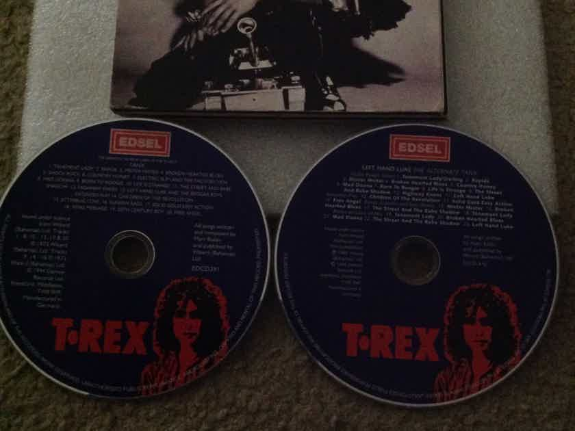 T. Rex - Left Hand Luke The Alternate Tanx Album 2 Compact Disc Edition  Edsel Records Germany