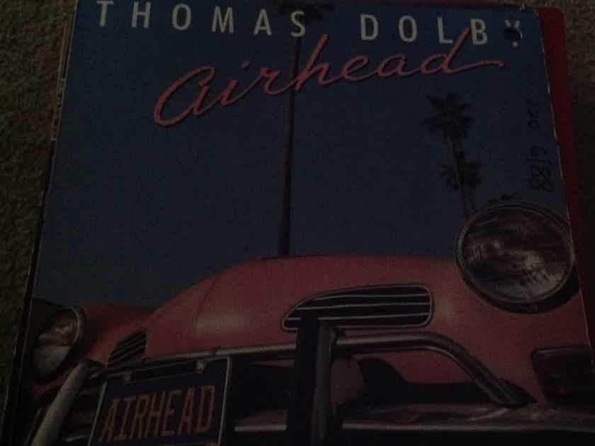 Thomas Dolby - Airhead 12 Inch EP EMI Mannhattan Records 4 Tracks  Vinyl NM