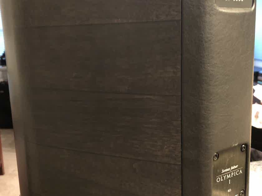 Sonus Faber Olympica I Rare Graphite Finish - Stands included - Low Hours - Excellent Condition
