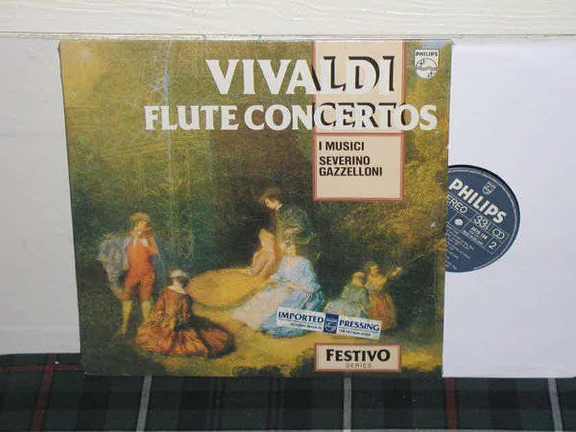 I Musici/Gazzeloni - Vivaldi Flute Cto. Philips Import pressing 6570