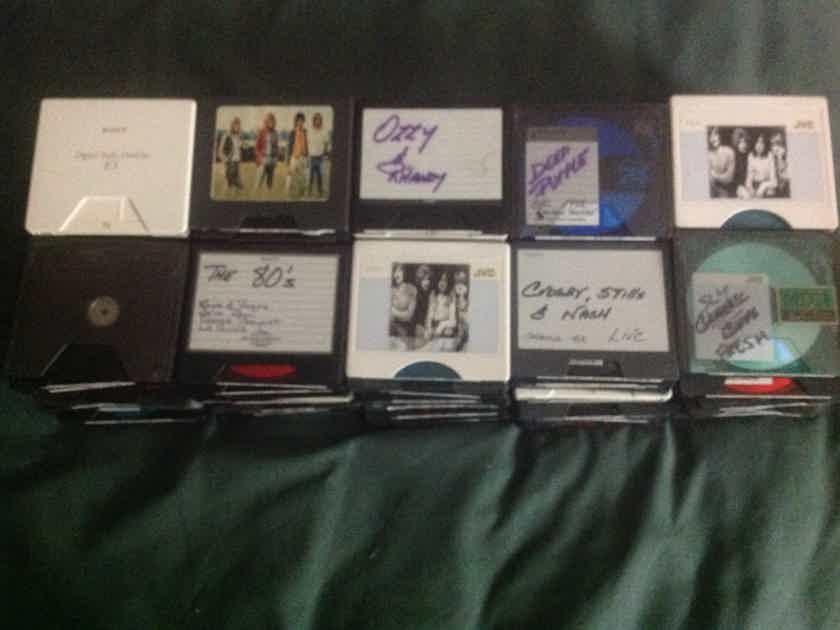 Various - Various 90 74 Minutes Minidisc Already Have Music On Them