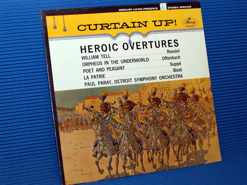 """VARIOUS / Paray - """"Heroic Overtures"""" - Mercury Living  Presence SEALED!"""