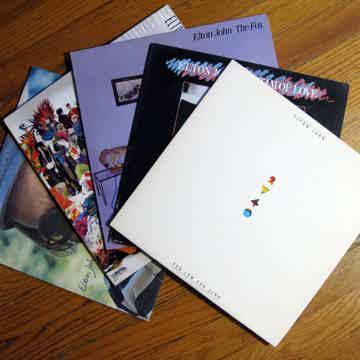 Elton John Elton John Lot of X5 LPs
