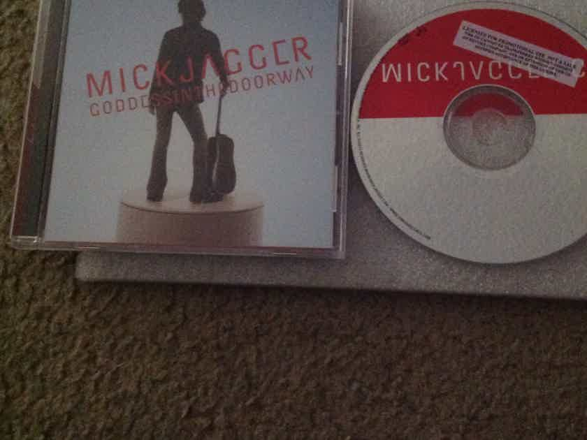 Mick Jagger - Goddess In The Doorway Promo Compact Disc Virgin Records