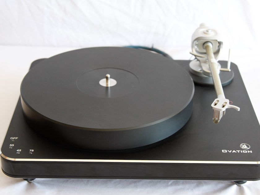 """Clearaudio Ovation With Magnify Arm.  An Absolute Sound """"Turntable of the Year"""""""