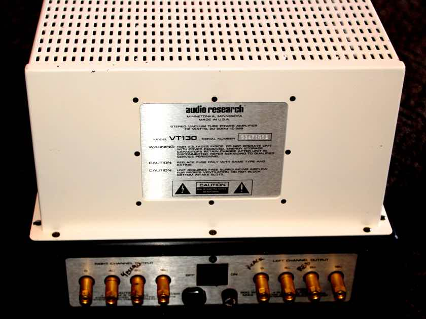 AUDIO RESEARCH VT-130 Tube Power Amplifier Balanced