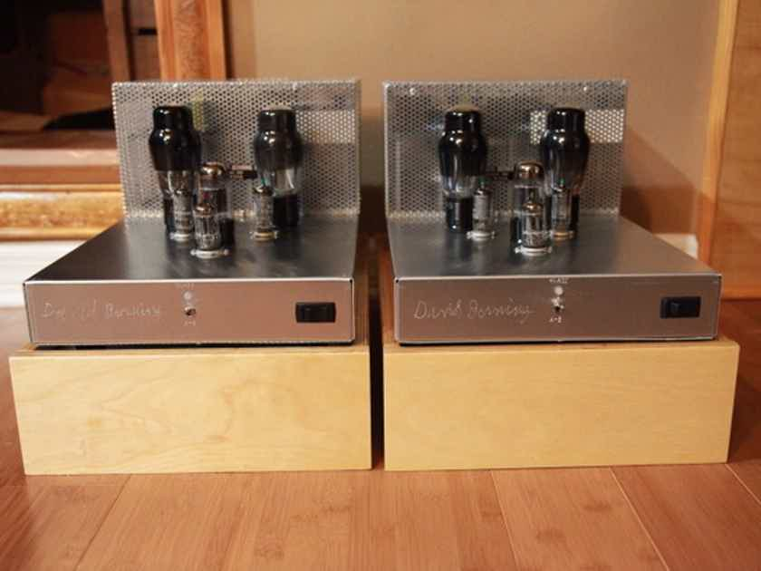 David Berning Co Custom Pair Mono Amps