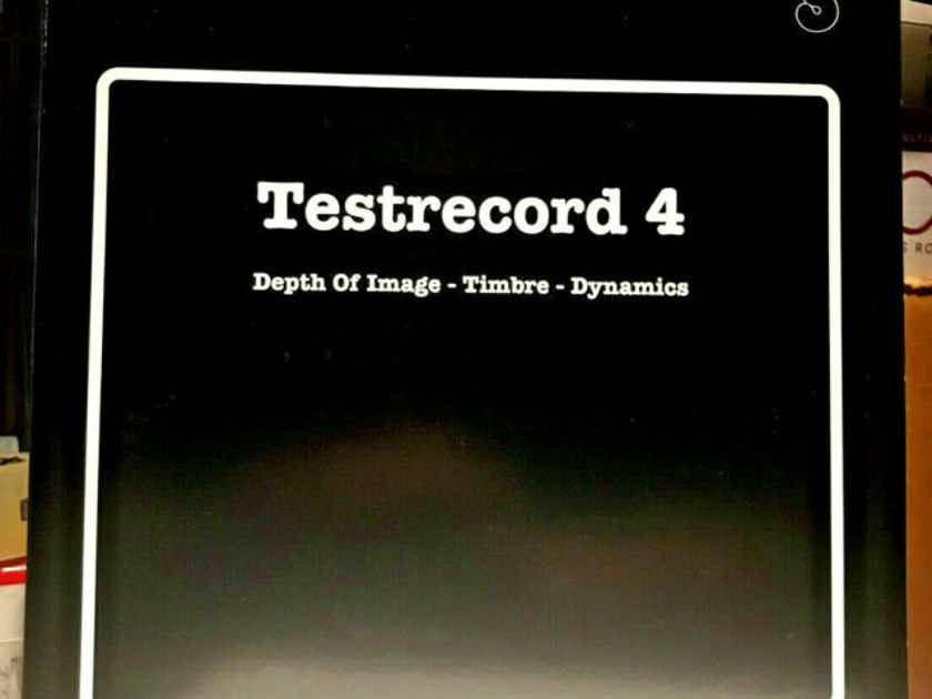 Various - Opus 3 Recordings Test Record 4