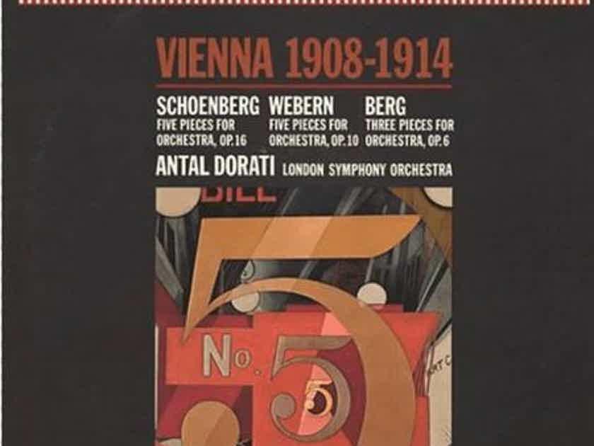 Antal Dorati - Berg/Schoenberg/Webern:  - Vienna 1908 - 1914 Mercury Living Presence Stereo 35MM