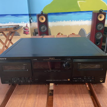 Sony TC-WA9ES Dual Quick Reverse LaserAmorphous  Head MINT