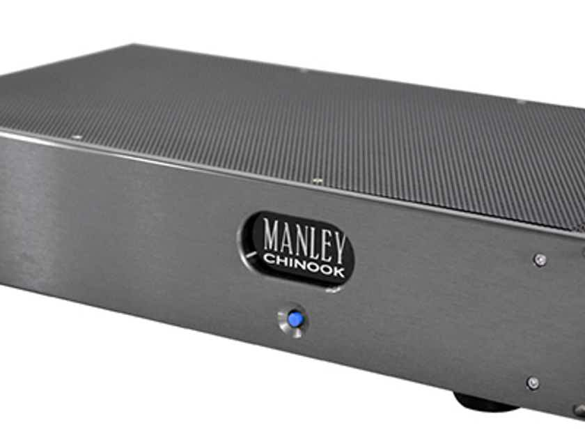 MANLEY CHINOOK  PHONO PRE  - The Richer Texture & Body of Tubes  While Delivering Terrific Resolution & Reliability!