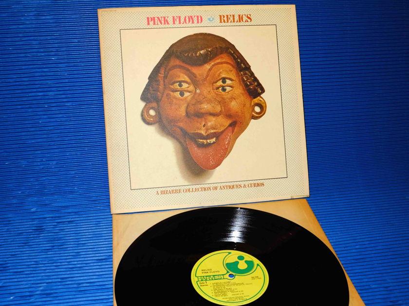 "PINK FLOYD   - ""RELICS"" -  Harvest 1971 'Textured Mask Cover'"