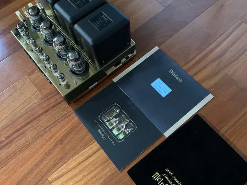 mcintosh  MC275LE, 50th Anniversary Limited Edition Gold Amp.