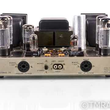 Dynaco ST70 Vintage Stereo Tube Power Amplifier