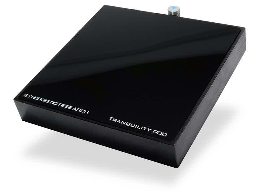 Synergistic Research Tranquility POD - dramatic improvement in the overall sound quality