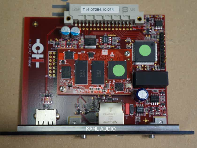 CH Precision Ethernet Input Board for the C1 DAC. NEW. $5,000 MSRP. NO RESERVE!