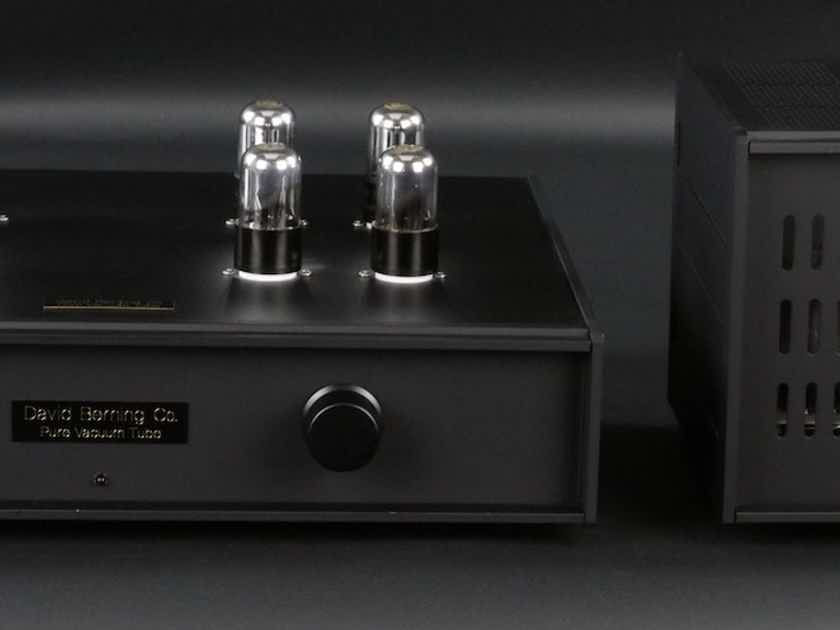 David Berning Co. Custom Octal Vacuum Tube Preamp Outboard Tube Power Supply  with Phono Stage