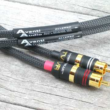 Avanti Audio Allegro Interconnects - Analog 1.0 Meter -...