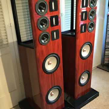 NOLA BABY GRAND REFERENCE II LOUDSPEAKERS, ORIGINAL WOO...