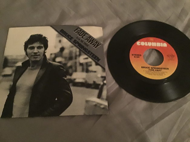 Bruce Springsteen 45 With Picture Sleeve Vinyl NM