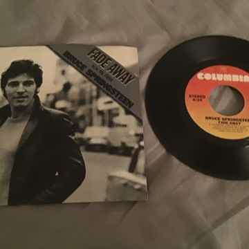 Bruce Springsteen 45 With Picture Sleeve Vinyl NM  Fade...