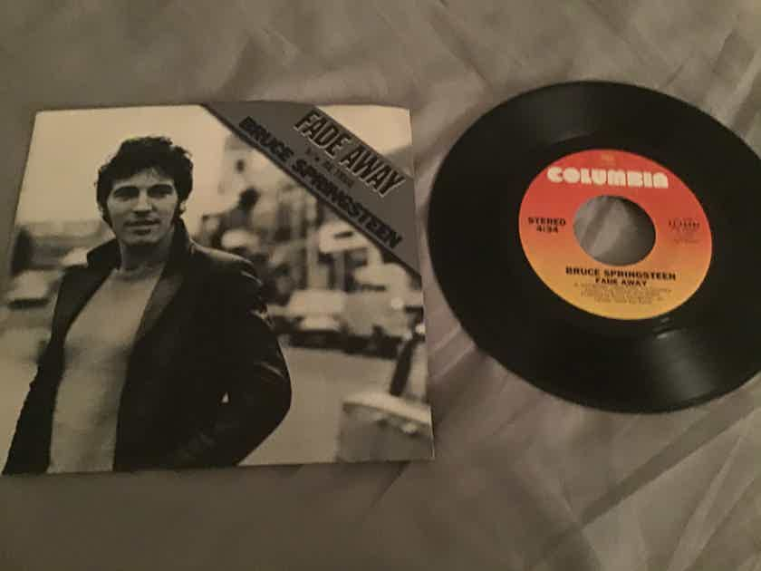 Bruce Springsteen 45 With Picture Sleeve Vinyl NM  Fade Away/Be True