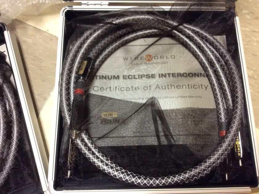 Wireworld Platinum Eclipse 6  XLR or RCA