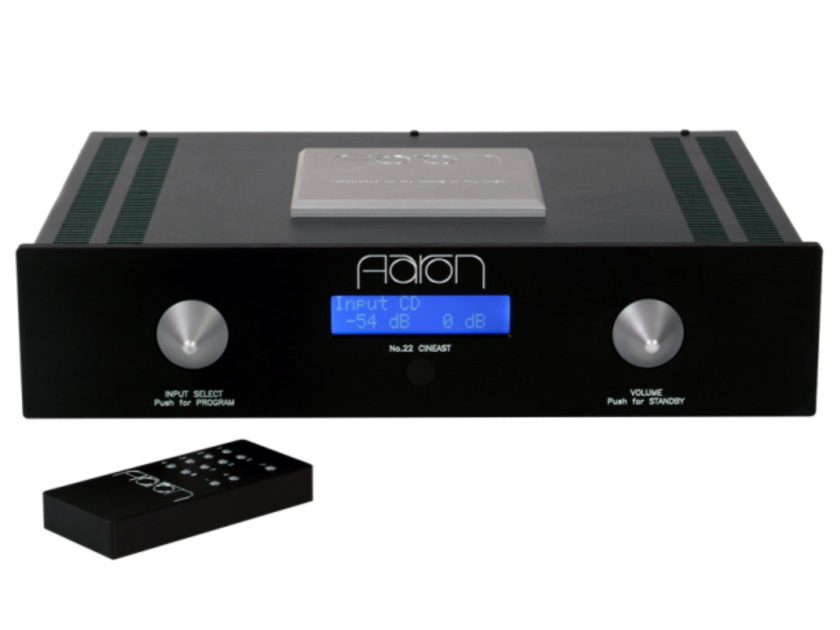 Aaron No.22 Cineast Stereo Preamplifier No. 22; Night Shadow (New) (12790)
