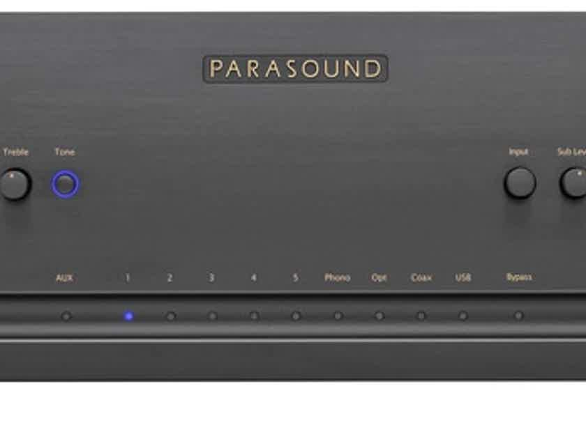 Parasound Halo Integrated 2.1 Channel Integrated Amplifier; Black (New) (17715)