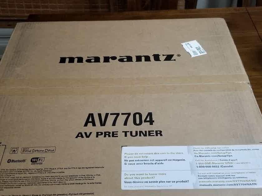 Marantz AV7704 O.B.O. NEW, ATMOS HDMI 2.0 Home Theater Processor.