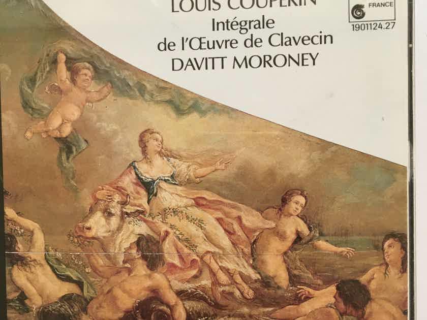 Louis Couperin Davitt Moroney  Integrale De I'OEuvre de Clavecin Cd set 1989 Mundi